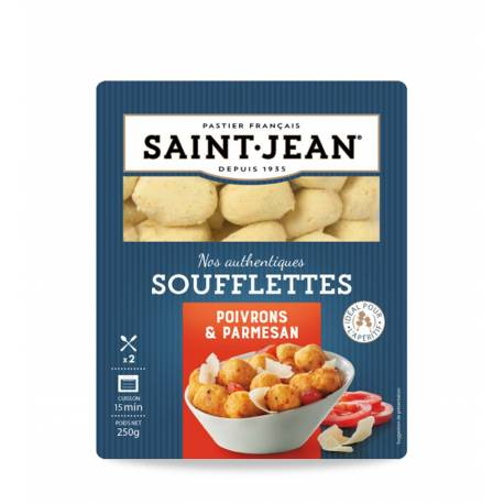 Achat de Soufflettes Poivrons et Parmesan