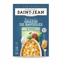 Gratin de Ravioles basilic sauce tomate & mozzarella 290 g