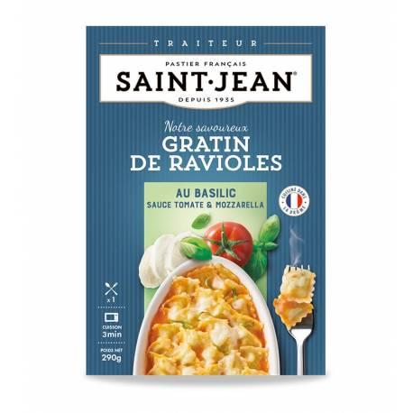 Achat de Gratin de Ravioles basilic sauce tomate & mozzarella
