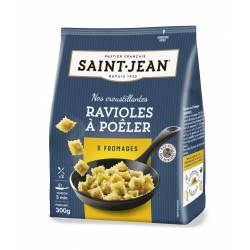 Ravioles à poêler 3 fromages 300g