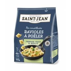Ravioles à poêler fromage frais et basilic 300g