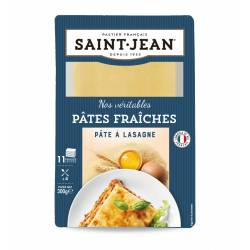 Pâte à lasagnes 12 plaques - 300g