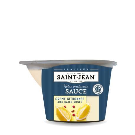 Achat de Sauce Crème Citronnée aux baie roses - 200g