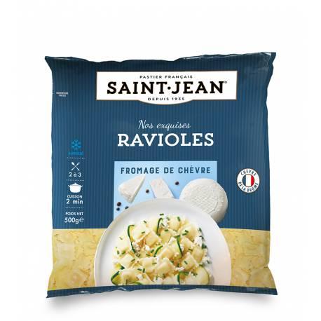 Achat de Ravioles Chèvre & Fines herbes surgelées - 500g