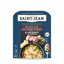 Achat de Pâtes Perles, Poitrine fumée & Artichauts, au parmesan façon risotto 300g