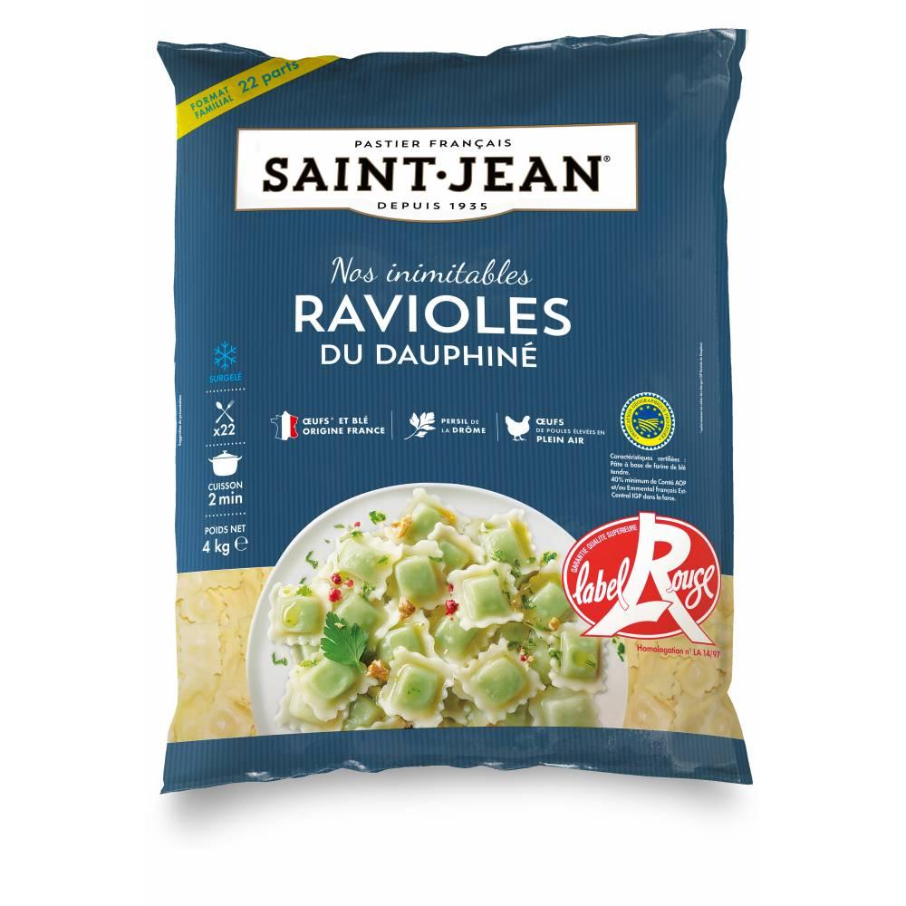 Ravioles Du Dauphine Surgelees Detachees 4kg My Saint Jean