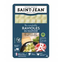 Ravioles du Dauphiné au comté AOP 12 mois d'affinage / Label Rouge 3 plaques - 180g
