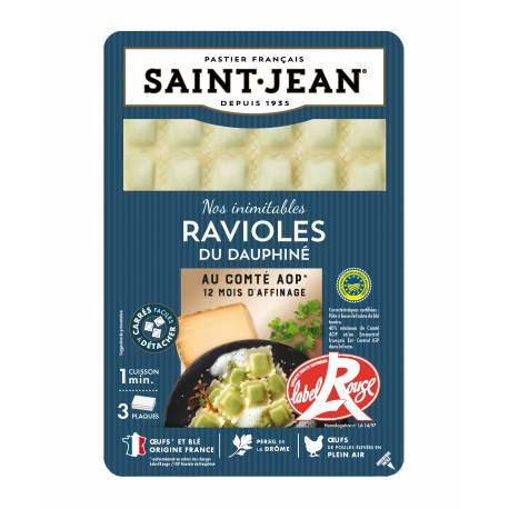 Achat de Ravioles du Dauphiné IGP au comté AOP 12 mois d'affinage / Label Rouge 3 plaques - 180g