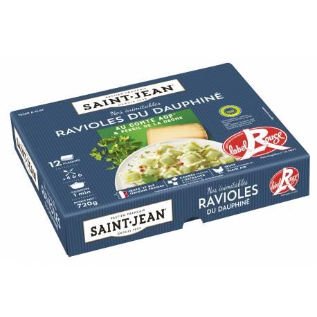 Achat de Ravioles du Dauphiné IGP ULTRA FRAICHES / Label Rouge 12 plaques - 720g