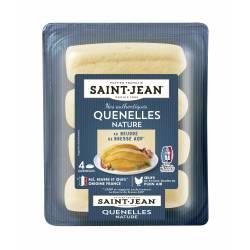 Quenelles nature au beurre de Bresse AOP - 340g (4x85g)