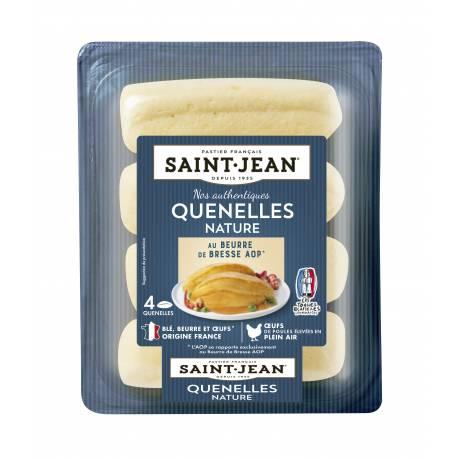 Achat de Quenelles nature au beurre de Bresse AOP - 340g (4x85g)